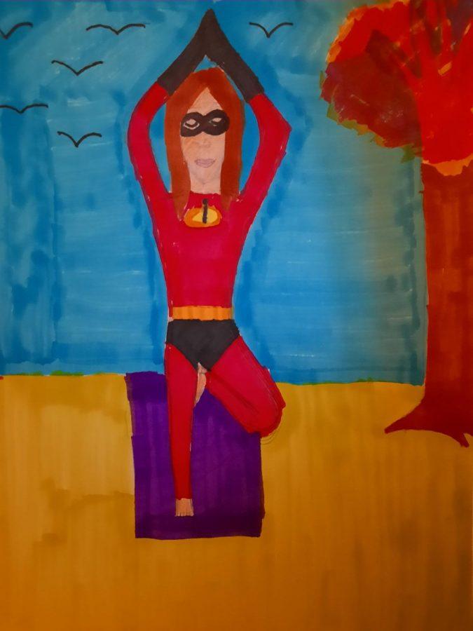 Enjoy yoga in a Halloween costume at El Cariso Community Regional Park.