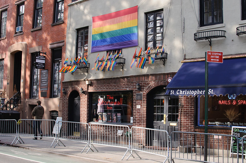 Stonewall Inn is now a National Historical Landmark.