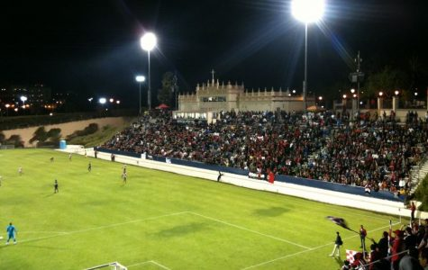 Torero Stadium located in the University of San Diego. This field was where the match and walk off occurred.