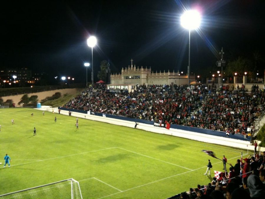 Torero+Stadium+located+in+the+University+of+San+Diego.+This+field+was+where+the+match+and+walk+off+occurred.