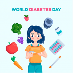 November 14 is known to be World Diabetes Day. The entire month of November is recognized as National Diabetes Month.