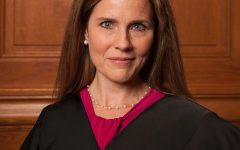 A picture of Amy Coney Barrett taken in 2018. Origin of photo: https://commons.wikimedia.org/wiki/File:Amy_Coney_Barrett.jpg#filelinks