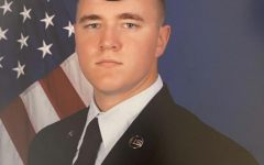 A1C NIGHT LOGAN: He was once a Canyon student but now serves with the United States Air Force.