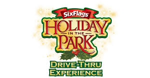 Local Six Flags Magic Mountains open their gates to allow the public to drive through the theme park for a holiday experience. Prices are per person.