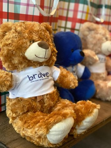 These adorable bears were made by Jordenn Thompson, a senior at Canyon High School. The stuffed animals were made and handed out to Los Angeles Children
