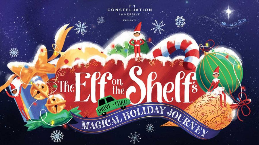 The Elf on the Shelfs Drive-Thru Magical Holiday Journey in Los Angeles.