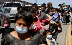 Asylum seekers from Central America crossing the Paso del Norte International Bridge, in Ciudad Juarez, Mexico. One of Ms. Power's priorities will be to target corruption, violence, and poverty in the region.