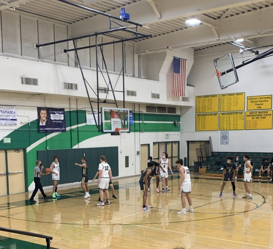Canyon Varsity Basketball had their first game Tuesday night against Golden Valley.