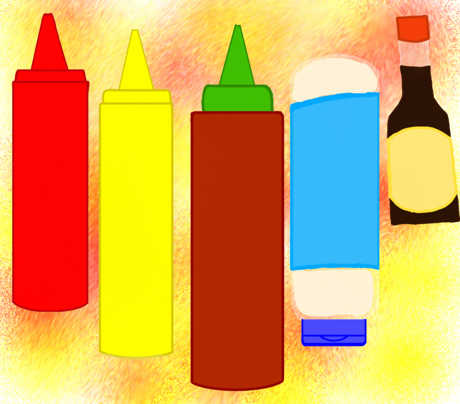 From+ketchup+and+mustard%2C+to+mayo+and+soy+sauce.+There%27s+a+mass+variety+of+condiments+for+people+to+choose+from.+Which+one+do+you+prefer%3F