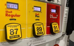 Canyon Country Shell gas station's gas prices compared to gas prices in  Colorado which are $3.34 per gallon.