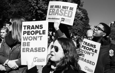 Transgender healthcare rally by the White House, 10/22/18