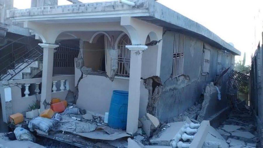 Haiti earthquake damage, August 2021